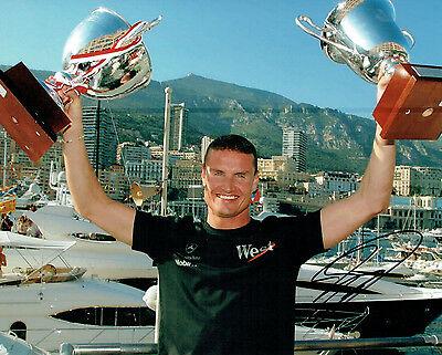 David COULTHARD SIGNED AUTOGRAPH F1 Racing Legend 10x8 Photo AFTAL