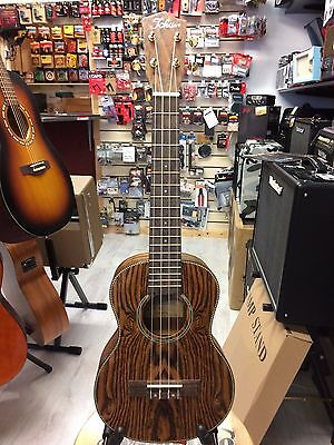 Tokai Tenor Ukulele, Solid Butterfly Wood Top With Gig Bag. Made In Japan