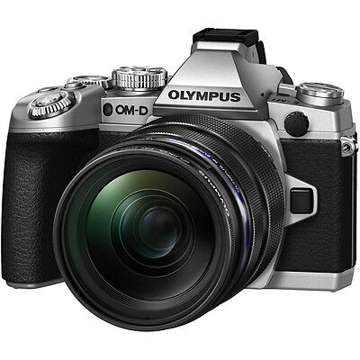 Olympus OM-D E-M1 Camera with 12-40mm PRO Lens - Silver