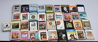 37 x Vintage 8 Track Tapes Cassettes all in good condition