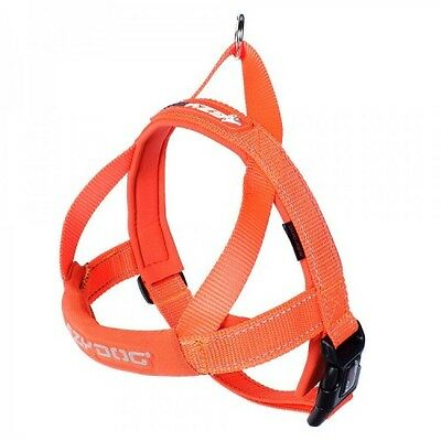 EZYDOG - Orange Medium Quick Fit Dog Harness - Free Delivery