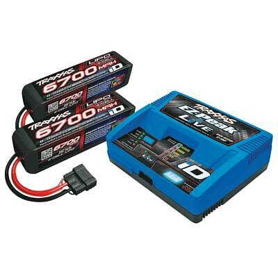 Traxxas 2993 2x 4S Lipo Battery / EZ-Peak Live Charger Completer Pack X-Maxx 8S