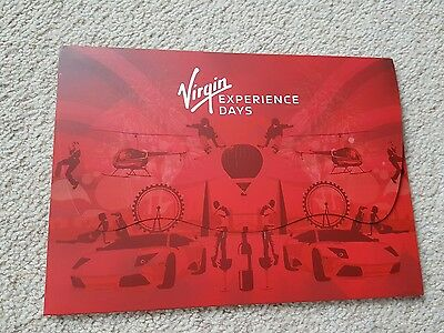 Bn Virgin Experience Day. Variety Of Days. Worth £100