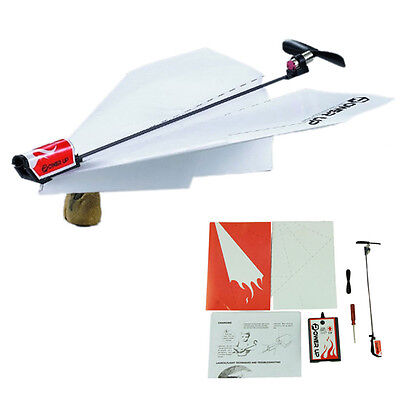 Power Up Electric Paper Plane Airplane Conversion Kit Educational Toys SK