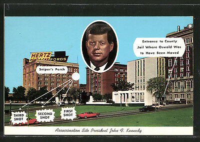 AK Dallas, TX, Assassination Site President John F. Kennedy, Attentat, JFK