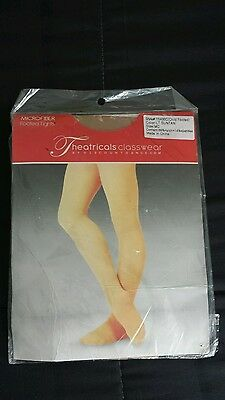 Dance tights microfiber footed tight girls
