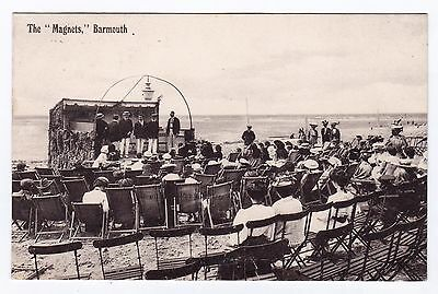 P3311 Original old postcard of The Magnets, Barmouth, Merionethshire