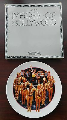 Vintage 1985 Avon Collector's Plate Images of Hollywood A Chorus Line
