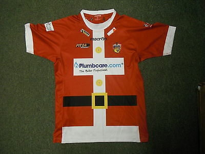 Wakefield Wildcats Large Mens Christmas Edition Rugby League Shirt