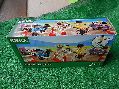 Brio 33796 Horse Jumping Pack Brand New