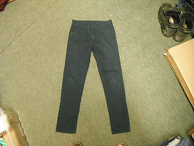 "George Slim Leg Jeans Waist 27"" Leg 26"" Faded Blue/Black Boys 10/11 Yrs Jeans"