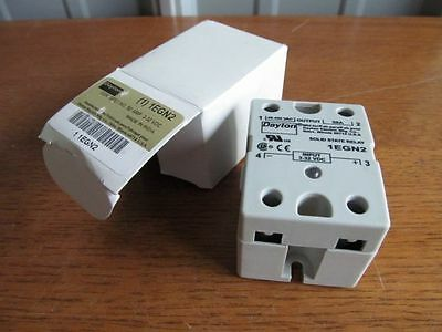 #-10 DAYTON Solid State RELAY SCR Puck Sty input 3-32vdc output 48-480v #1EGL2