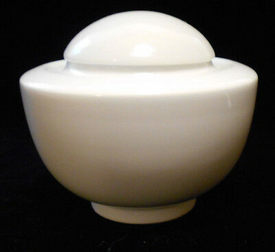 Hutschenreather Galleria Sugar Bowl Germany Porcelain White 6u3