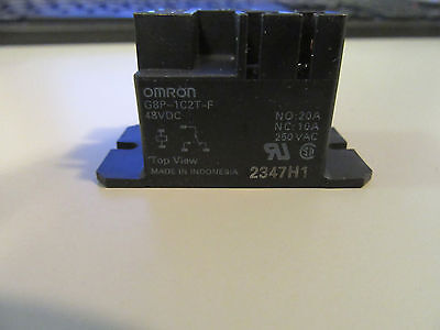 Omron G8P-1C2T-F Relay Flange Mount 48Vdc New