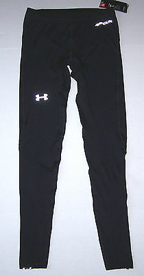 Nwt New Under Armour Launch Compression Tights Tight Pants Wicking Black Men $75