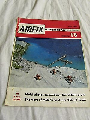**LOOK** Superb Intact Vintage AIRFIX Magazine July 1965 (52 yrs old!)