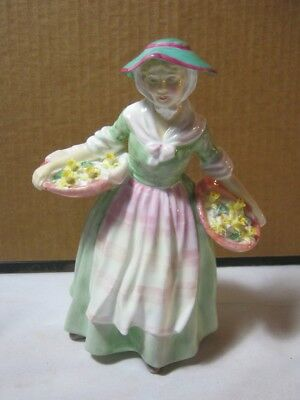 Royal Doulton Vtg. Figure Titled Daffy Down Dilly  T*