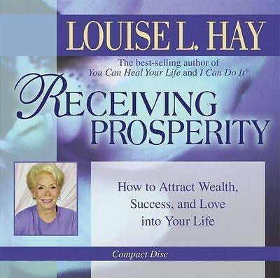 NEW Receiving Prosperity By Louise L. Hay Audio CD Free Shipping