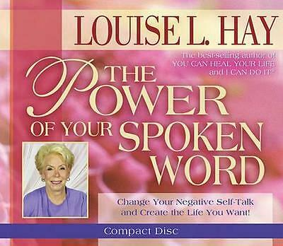 NEW The Power of Your Spoken Word By Louise L. Hay Audio CD Free Shipping