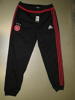 Pantalon de survêtement Sweat Pant Ajax Amsterdam 15/16 Original adidas Gr. S