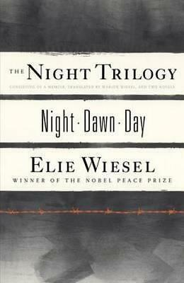 NEW The Night Trilogy By Elie Wiesel Paperback Free Shipping