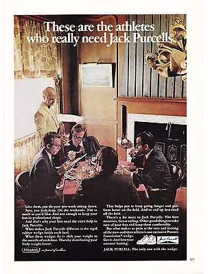Original Print Ad-1971 These are the athletes who really need JACK PURCELLS-BFG