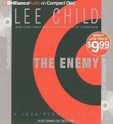 NEW The Enemy By Lee Child Audio CD Free Shipping