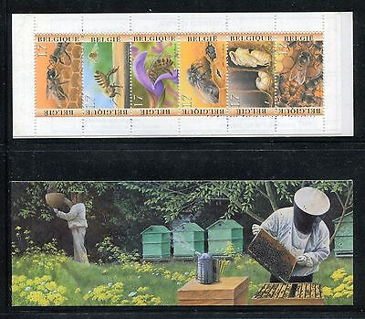 Belgium 1667a, booklet, MNH, Insects 1997, Bee, x23963