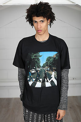 Official The Beatles Abbey Road Unisex T-Shirt Revolver Studios Crossing