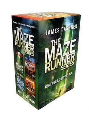 NEW The Maze Runner Series By James Dashner Paperback Free Shipping