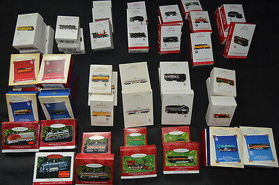 Complete Series! LIONEL TRAINS 56 Hallmark Ornaments 1996-2016 box XMAS Railroad