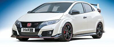 Ressorts de rabaissement Set sport Honda Civic Type R FK2 Bj. 2015-. 228KW/310PS