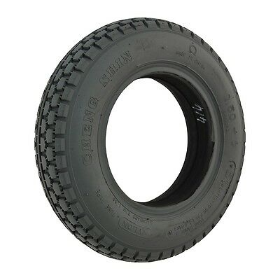 # Set Of 2 # New Mobility Scooter Tyres Grey 250-6  Block Tread