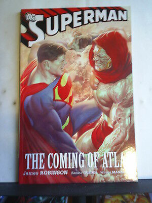 GRAPHIC NOVEL: SUPERMAN - THE COMING OF ATLAS - Paperback 2009 1st print