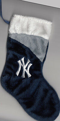 New York Yankees 7 inch Mini Stocking Ornament dark blue with logo