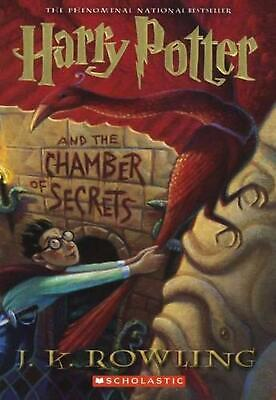 Harry Potter and the Chamber of Secrets by J.K. Rowling (English) Prebound Book