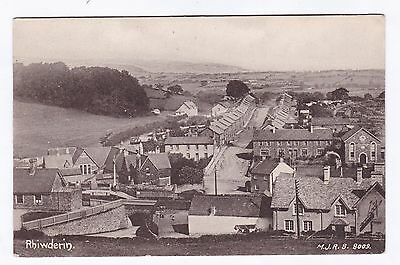 P3322 Original old postcard of Rhiwderin, Monmouthshire - Station