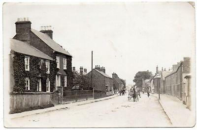Early HOUGHTON REGIS High Street DUNSTABLE Bedford  Smy Photo  Postcard
