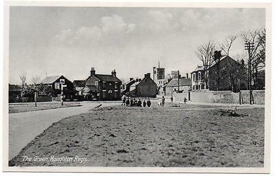 Early HOUGHTON REGIS  The Green  DUNSTABLE Bedford Postcard