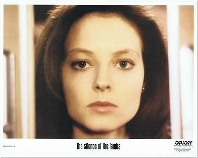 SILENCE OF THE LAMBS - 1991 - original 11x14 lobby card C - nice of JODIE FOSTER