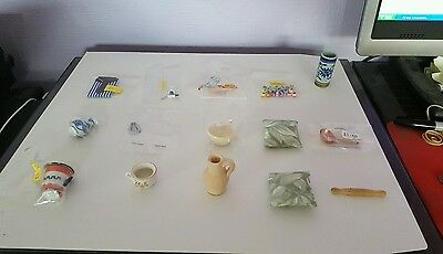 1:12 Scale Dolls House Accessories - Job Lot Bundle 3 - 15 Items