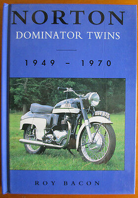 Norton Dominator Twins Motorcycle Book 1949-1970 Atlas 88 99 Manxman Featherbed