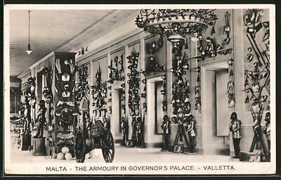 alte AK Valetta, The Armoury in Governor´s Palace