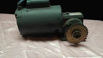 Reliance 1/4 Hp 120Ac Electric Gear Motor 97 Rpm Output