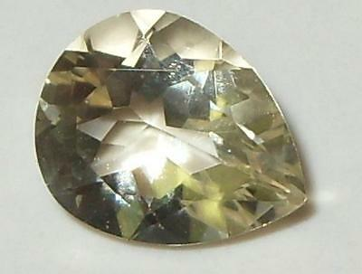 2.14ct Faceted Oregon Sunstone Pear Cut SPECIAL