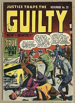 Justice Traps the Guilty (1947) #20 GD+ 2.5