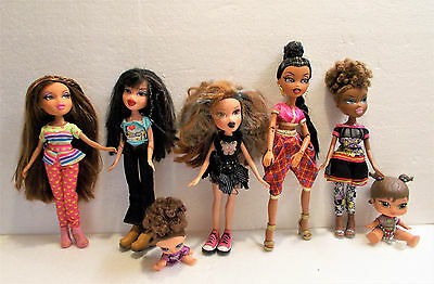 Beautiful Bratz Dolls Bundle