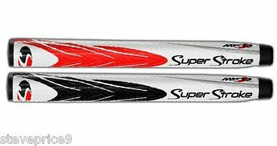 Super Stroke Golf. The Claw Putter Grip. Red
