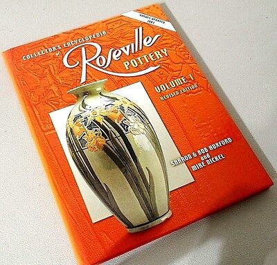 Collector's Encyclopedia of Roseville Pottery Volume 1 Book Hard Cover