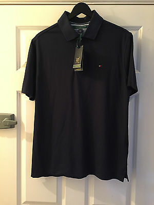 TOMMY HILFIGER Mens Golf Polo Shirt Size EU - M,US - S. New with tags. Navy blue